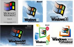 Classic Windows Operting Systems
